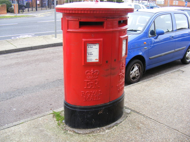 Heath Road Post Office Postbox