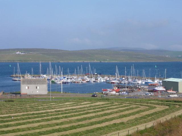Lerwick: marina at Gremista