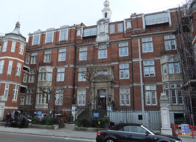 The Royal Marsden Hospital, Fulham Road SW3