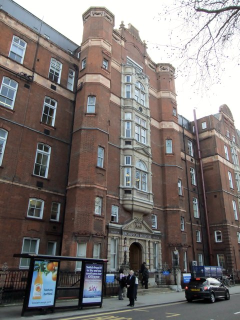 South Block, Royal Brompton Hospital, Fulham Road SW3