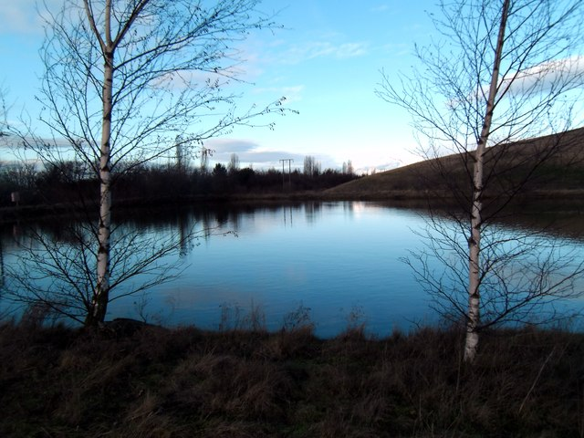 Gascoigne Wood Mine water storage pond