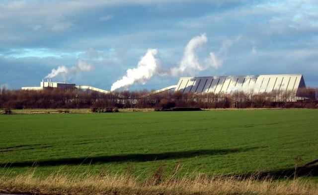 British Gypsum Plasterboard Plant