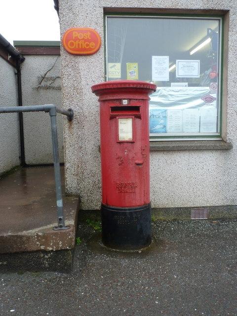 Symbister: postbox № ZE2 100