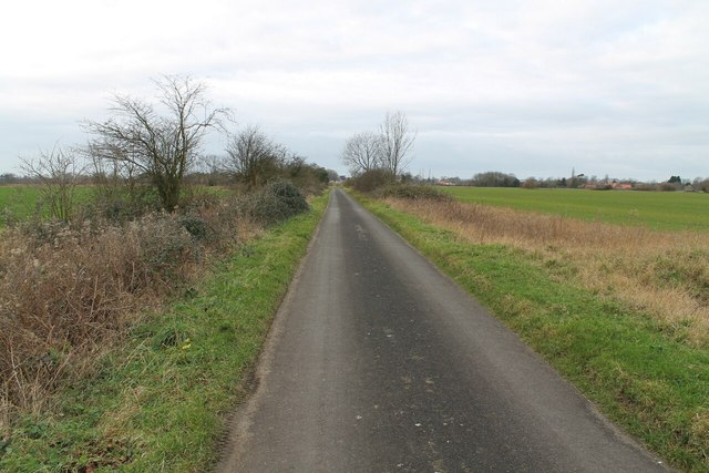 Sandygate Lane towards Horbling