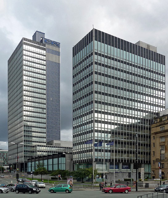 Co-operative Insurance Society Tower and New Century House, Miller Street, Manchester
