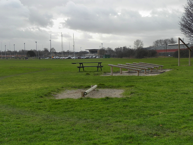 Hough End Fields