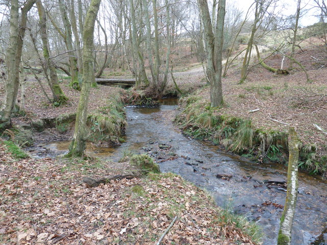 Footbridge over stream near Londonderry Farm