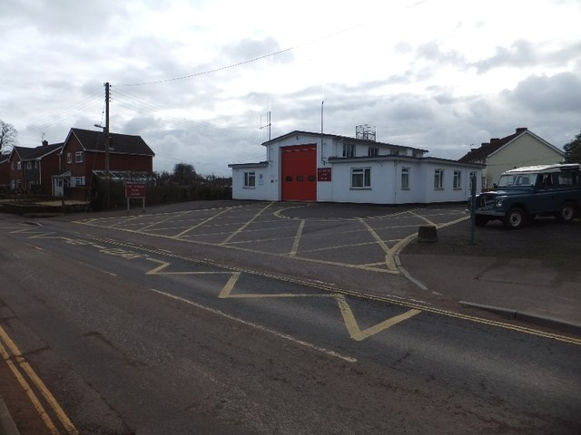 Cullompton Fire Station