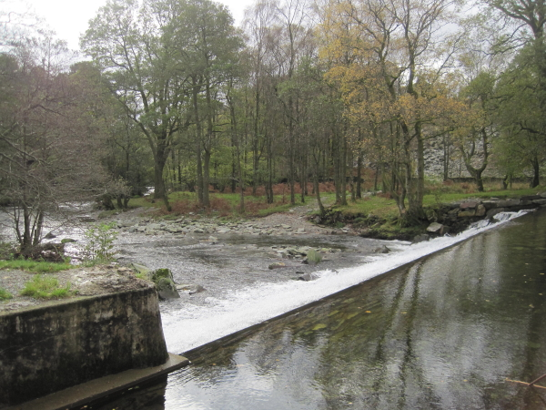 Weir on the Great Langdale Beck