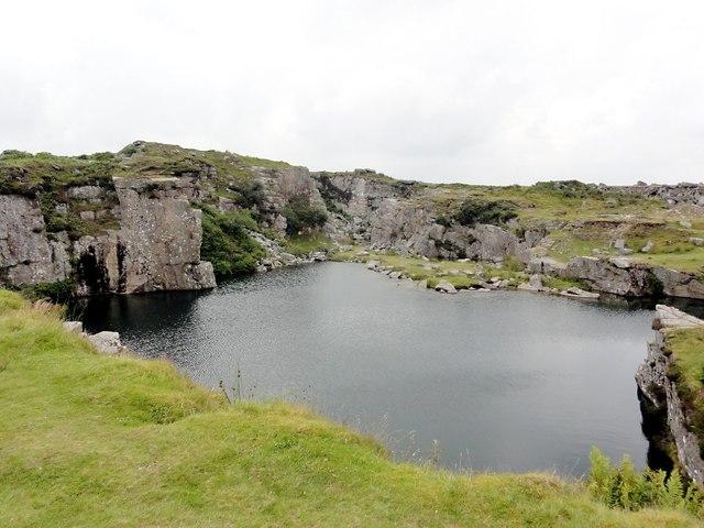 Granite Quarry Ireland Flooded Granite Quarry