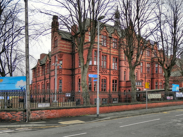 William Hulme's Grammar School Original Building
