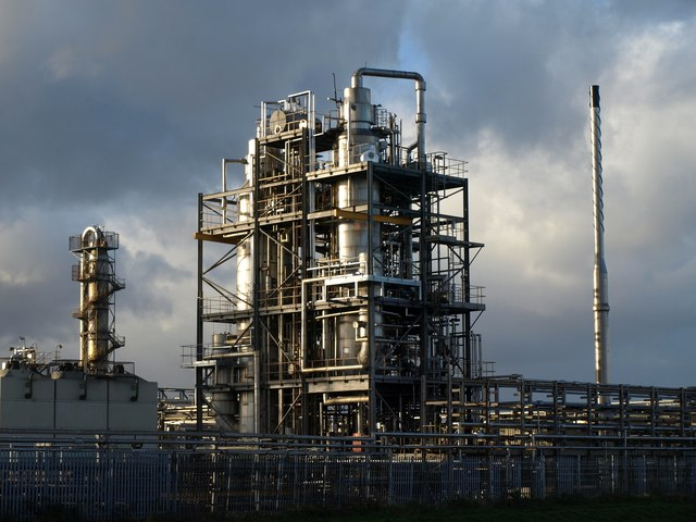 Croda chemicals plant