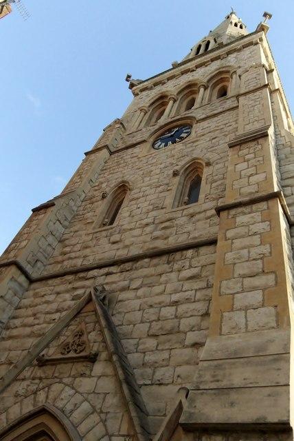Clock tower, St Yeghiche Church, Cranley Gardens SW7