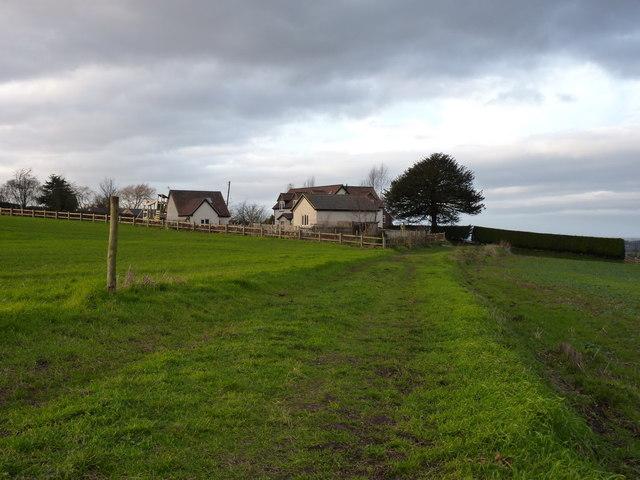 Bridleway into Childpit Lane