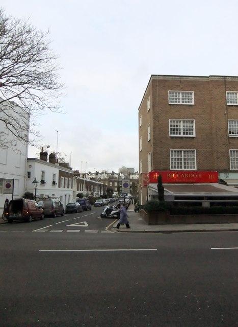 Riccardo's, Fulham Road SW7