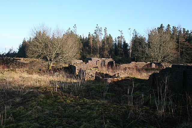Ruins at East Benhar
