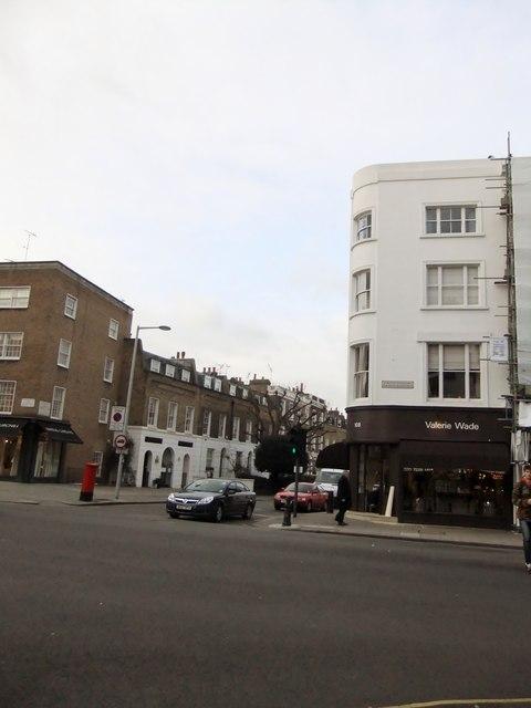 Valerie Wade, Fulham Road SW7