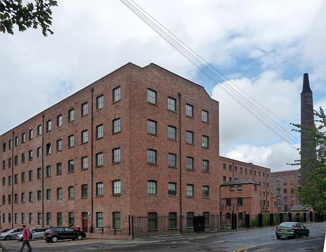 Former Macintosh Works, Hulme Street, Manchester