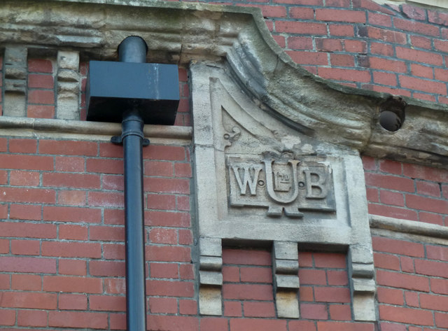 Former Ushers Brewery - detail