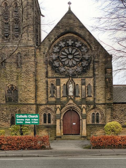 English Martyrs Catholic Church Door And 169 David Dixon
