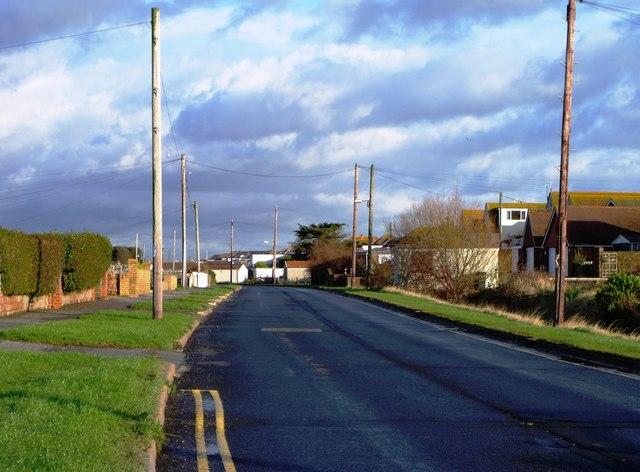 Coast Road, Pevensey Bay