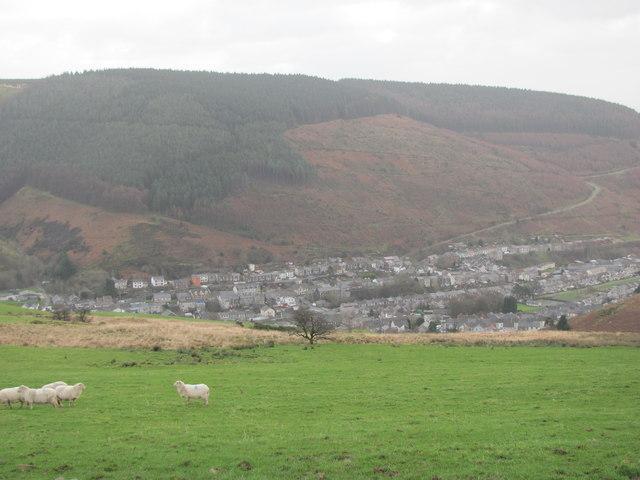 Hillside above Ogmore Vale