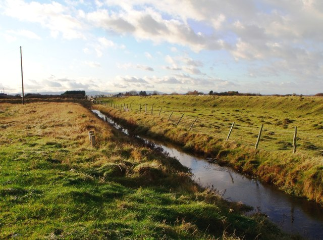Drainage ditch, Norman's Bay
