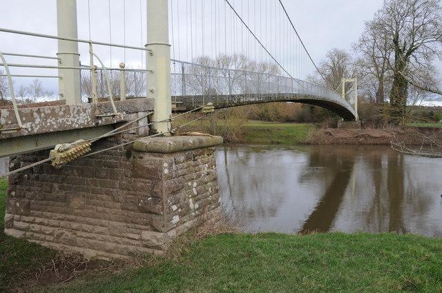 Footbridge at Sellack