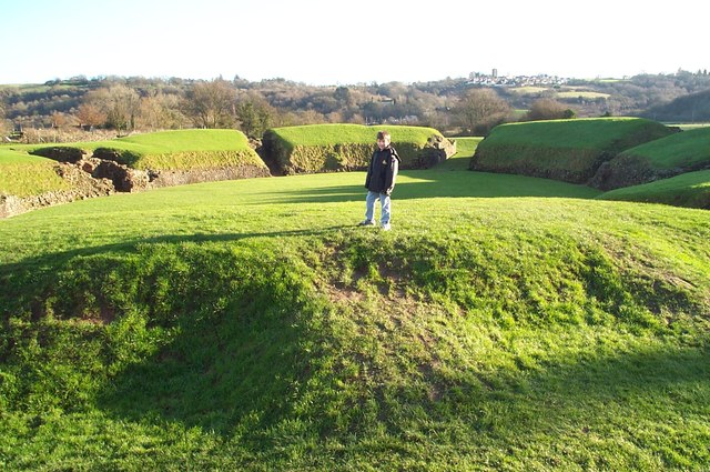 Roman Amphitheatre in Caerleon