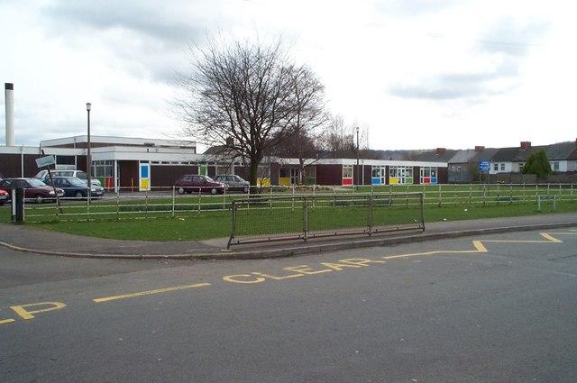 Plas y Felin Junior School in 2001