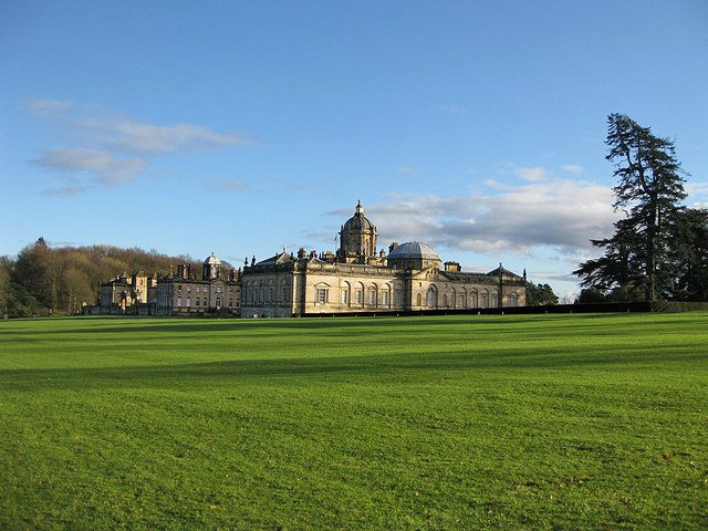 Castle Howard, January view