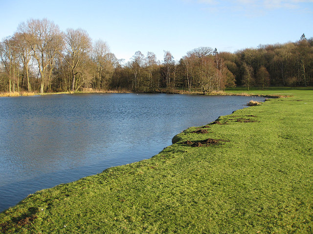 Dairy Pond, winter view