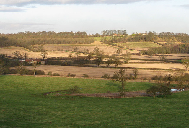 Farmland around Bog Hall