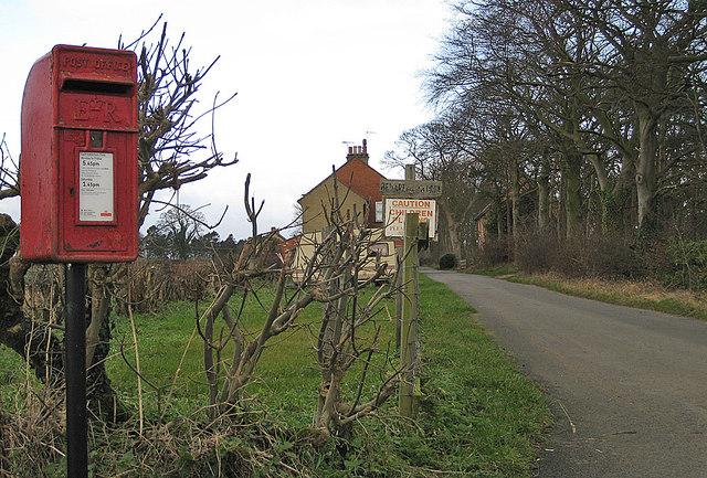 Lane off Swinton Lane
