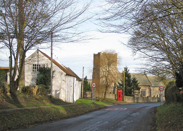Church of St John the Evangelist at Folkton