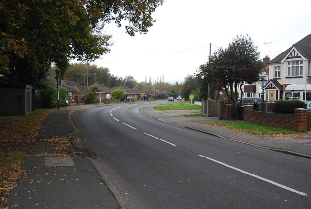 Bend in Coleford Bridge Rd