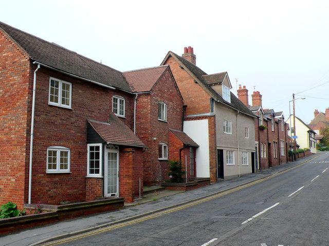 Houses on Theatre Street