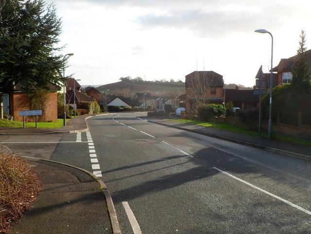 NW end of Pensarn Way, Henllys, Cwmbran