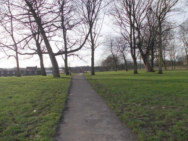 Footpath - Hall Lane
