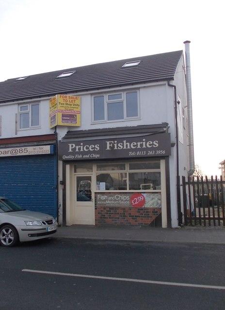 Prices Fisheries - Hall Lane