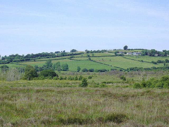 Cors Caron and Ceredigion farmland