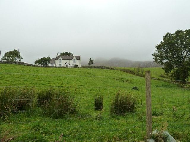 Dromore on a misty day