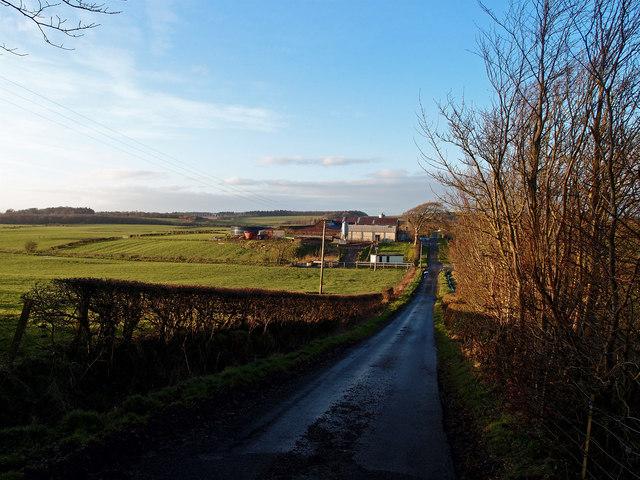 Minor Road, Low Wardneuk Farm