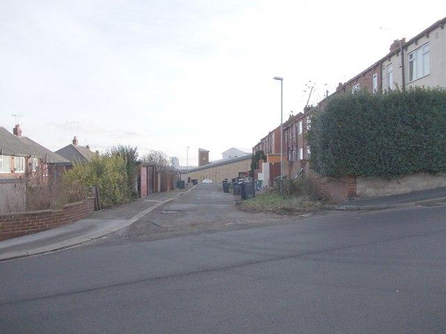 Back Elsworth Street - Abbott Road