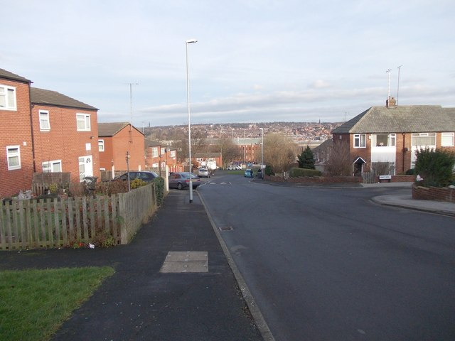 Abbott Road - viewed from Abbott View