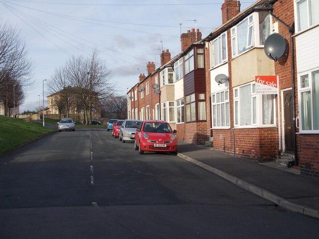 Elsworth Street - looking towards
