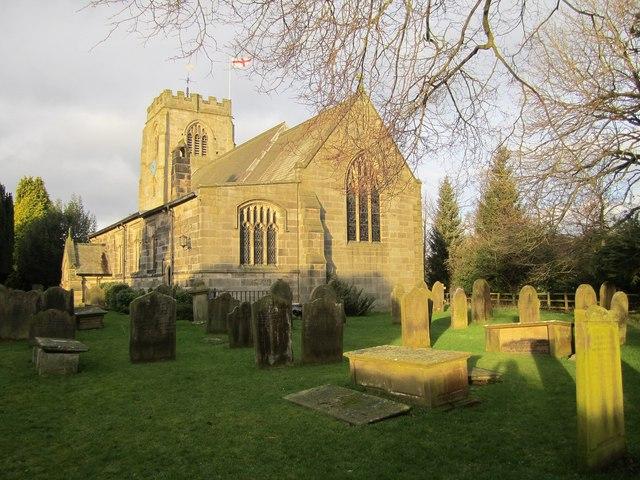 The Parish Church of St Thomas a Becket, Hampsthwaite