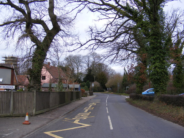 The B1118 in Wilby