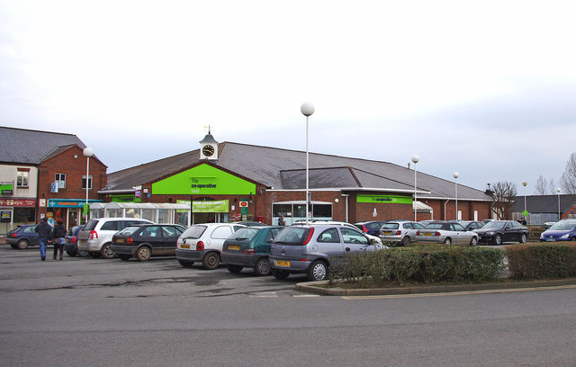 The Co-operative Food, Morris Central Shopping Park, Wem