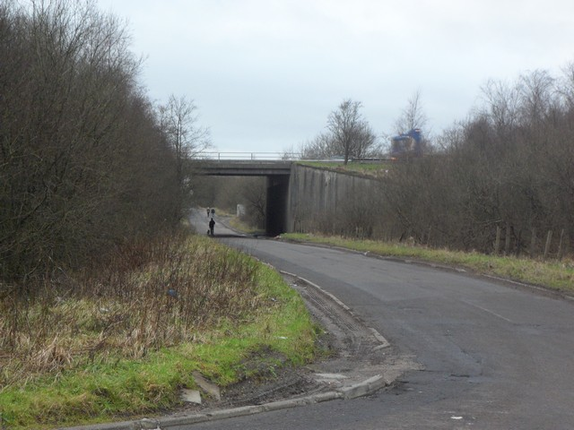 M73 crosses Drumcavel Road